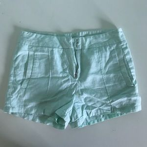 Light Turquoise Shorts